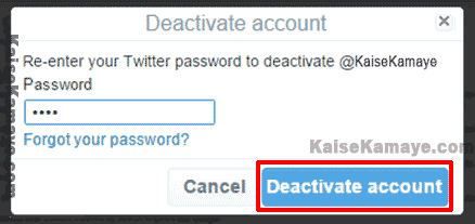 Twitter Account Delete Or Deactivate Kaise Kare in Hindi, Twitter Account Delete Kaise Kare, Twitter Account Deactivate Kaise Kare , Twitter Account Delete Kaise Karte Hai