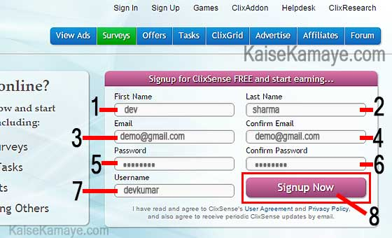 Clicksense se Paise Kaise Kamaye , Make Money With Clicksense in Hindi , Internet se Paise Kaise Kamaye