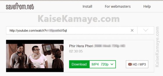 Youtube video download online hd free kaise kare