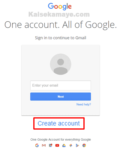 Google Gmail Account Kaise Banaye , Google Account Kaise Banaye , Gmail in hindi