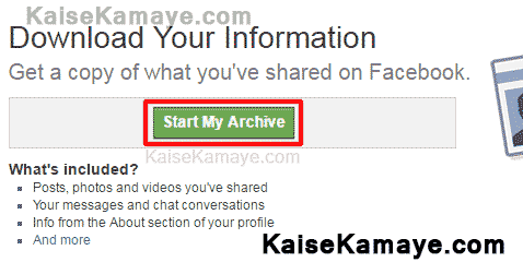 Facebook Account Delete or Deactivate Kaise Kare Permanently in Hindi , How To Download Facebook Data or Backup Your Facebook Data in Hindi , Facebook Account ka Data Backup Kaise le