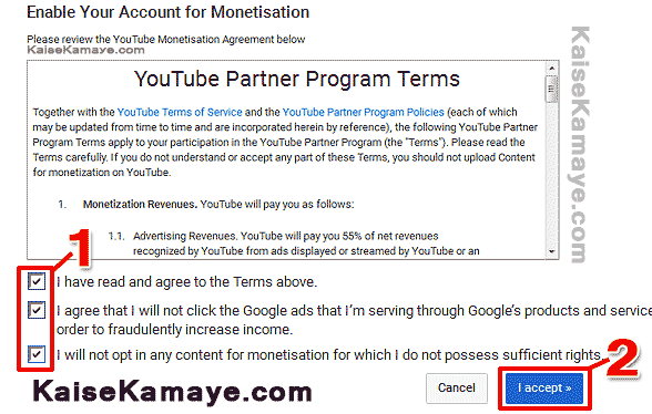 YouTube Video Monetize Kaise Kare or Adsense se Kaise Jode in Hindi , How to Monetize YouTube video with AdSense in Hindi ,