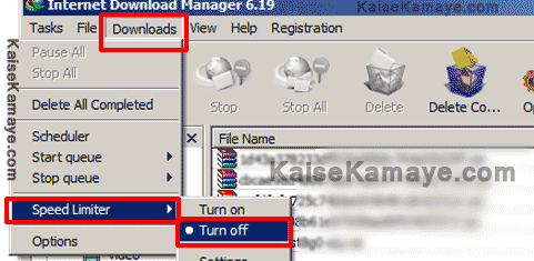 IDM Ki Speed Kaise Badhaye Internet Download Manager , Internet ki Speed Kaise Badhaye , Boost Download Speed in Hindi