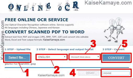 Pdf image to word text converter online