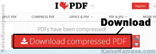 PDF File Ka Size Kam Kaise Kare Compress PDF in Hindi