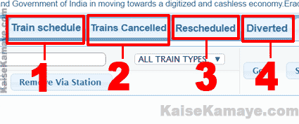 Rail Information in Hindi , Train Ki Jankari Current Running Status Location Kaise Pata Kare in Hindi , Train ki Location Kaise Pata Kare
