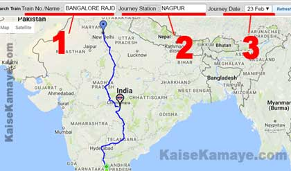 Train Ki Jankari Current Running Status Location Kaise Pata Kare in Hindi , Train Ki Location Map Par Kaise Dekhe, Train ki Jankari in Hindi