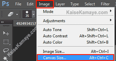 Photoshop Me Canvas Size Kaise Change Kare, Photoshop Me Canvas Size Kaise Change Karte Hai, Photoshop Canvas settings in Hindi