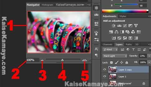 Photoshop Tutorial Navigator Panel in Hindi, Photoshop Navigator , Photoshop Sikhe