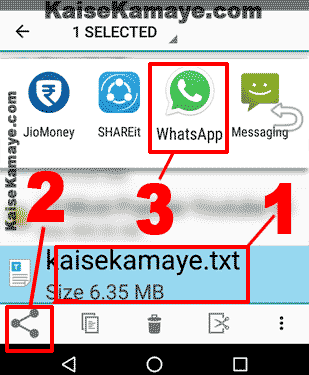 Whatsapp se apk exe zip File ya Koi Bhi File Kaise Send Kare, Whatsapp me game kaise send kare, Send apk files on whatsapp in hindi
