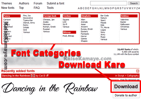Computer Me Font Download Or Install Kaise Kare in Hindi, Computer Me Font Install Kaise Kare In Hindi