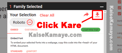 Computer Me Font Download Or Install Kaise Kare in Hindi , Computer Me Font Install Kaise Kare In Hindi, Google Font Kaise Download Kare