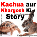 Kachua aur Khargosh Ki Moral Story in Hindi , Kachua aur Khargosh Ki Kahani , Rabbit and Tortoise Moral Story in Hindi, Moral Story in Hindi