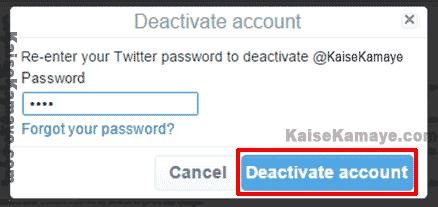 Twitter Account Delete Or Deactivate Kaise Kare in Hindi, Twitter Account Delete Kaise Kare, Twitter Account Deactivate Kaise Kare , Twitter Account Delete Kaise Karte Hai