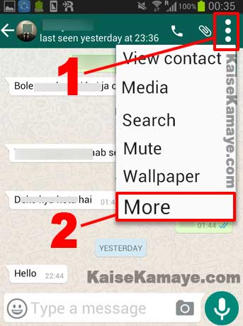 Whatsapp Par Kisi Ko Block Ya Unblock Kaise Kare in Hindi , Whatsapp par Kisi Ko Block Kaise Karte Hai, How to Block Someone on WhatsApp in Hindi