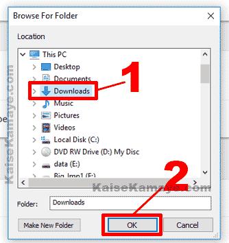 Google Chrome Browser Me Default Download Folder Kaise Change Kare