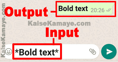 WhatsApp Message Me Bold Italic and Strikethrough Text Kaise Likhe, Whatsapp me Bold Text Kaise Likhe, How to Use Bold, Italic and Strikethrough Text on WhatsApp in Hindi