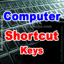 Computer Keyboard Shortcut Keys in Hindi, Computer ki Shortcut Keys, Pc keyboard Shortcut Keys in Hindi, List of All Computer Keyboard Shortcuts in Hindi