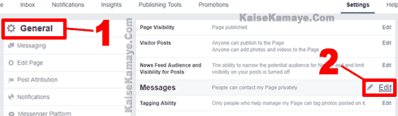 Facebook Page Me Auto Reply Message Kaise Set Kare in Hindi, Facebook Page Me Auto Reply Kaise Chalu Kare, How To Set Auto Reply Message On Facebook Page in Hindi