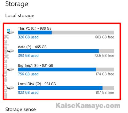 Hard Disk Space Kaise Check Kare in Hindi, Hard Drive Ka Free Space Kaise Check Kare, Windows 10 Me Hard Drive storage Kaise Check Kare, How to Check Your Hard Disk Space in Hindi